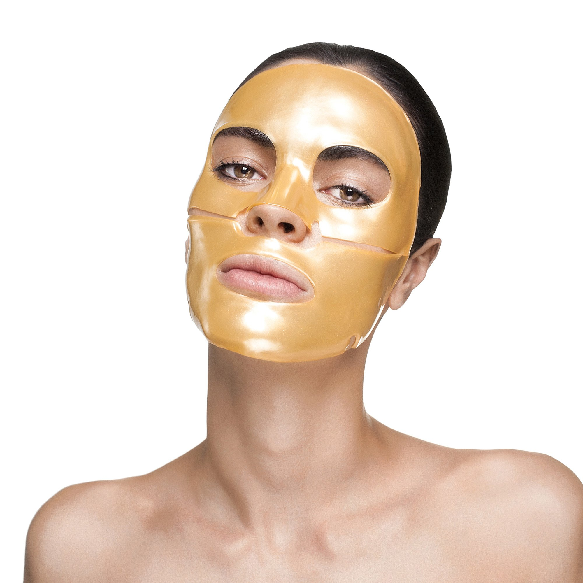 Face Mask: Gold Face Mask