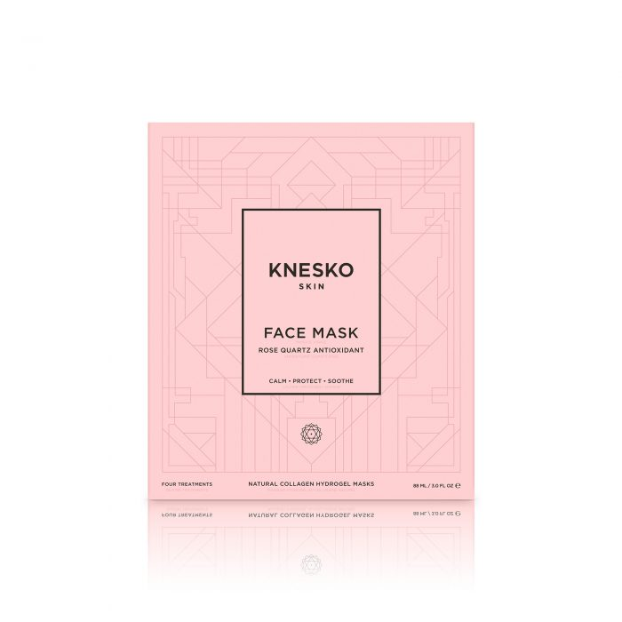 knesko rose quartz face mask box