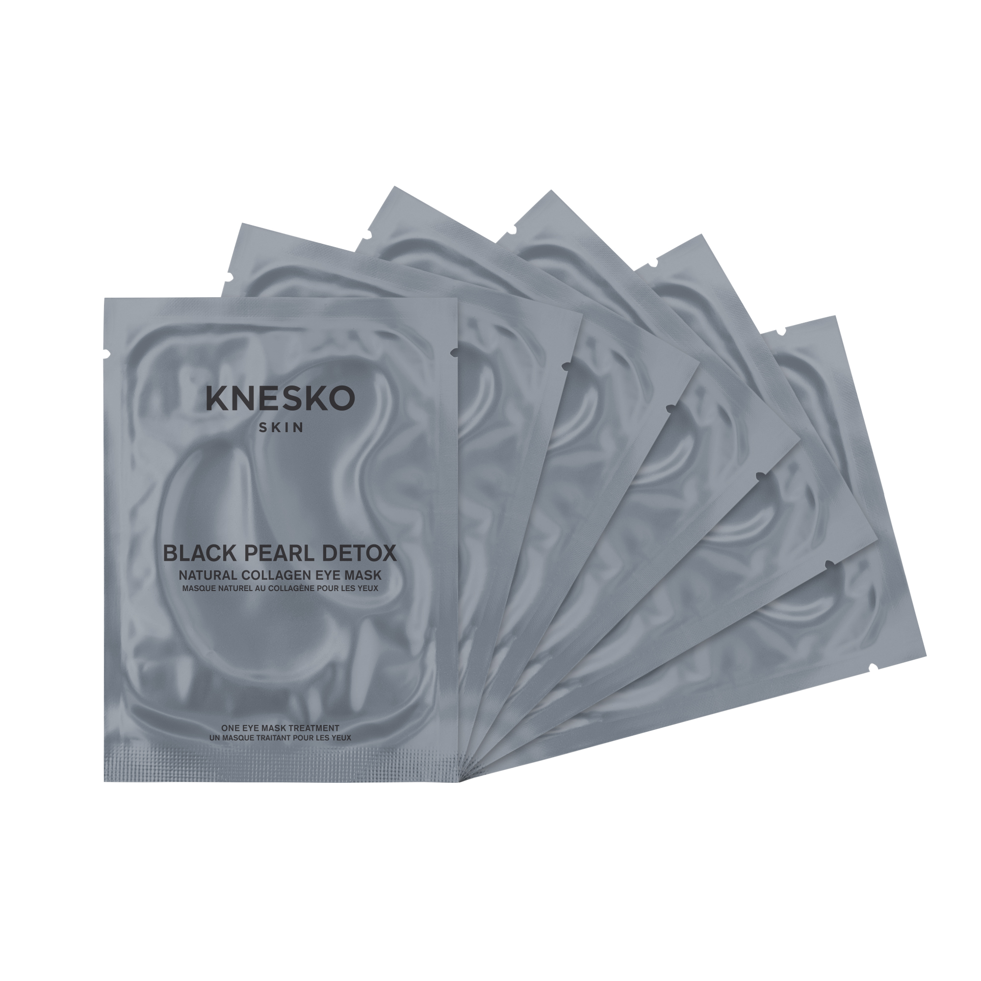 Knesko Foil Package Eye Mask Black Pearl