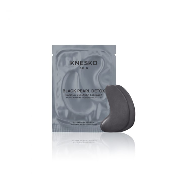 Knesko Foil Package Eye Mask Black Pearl Gel