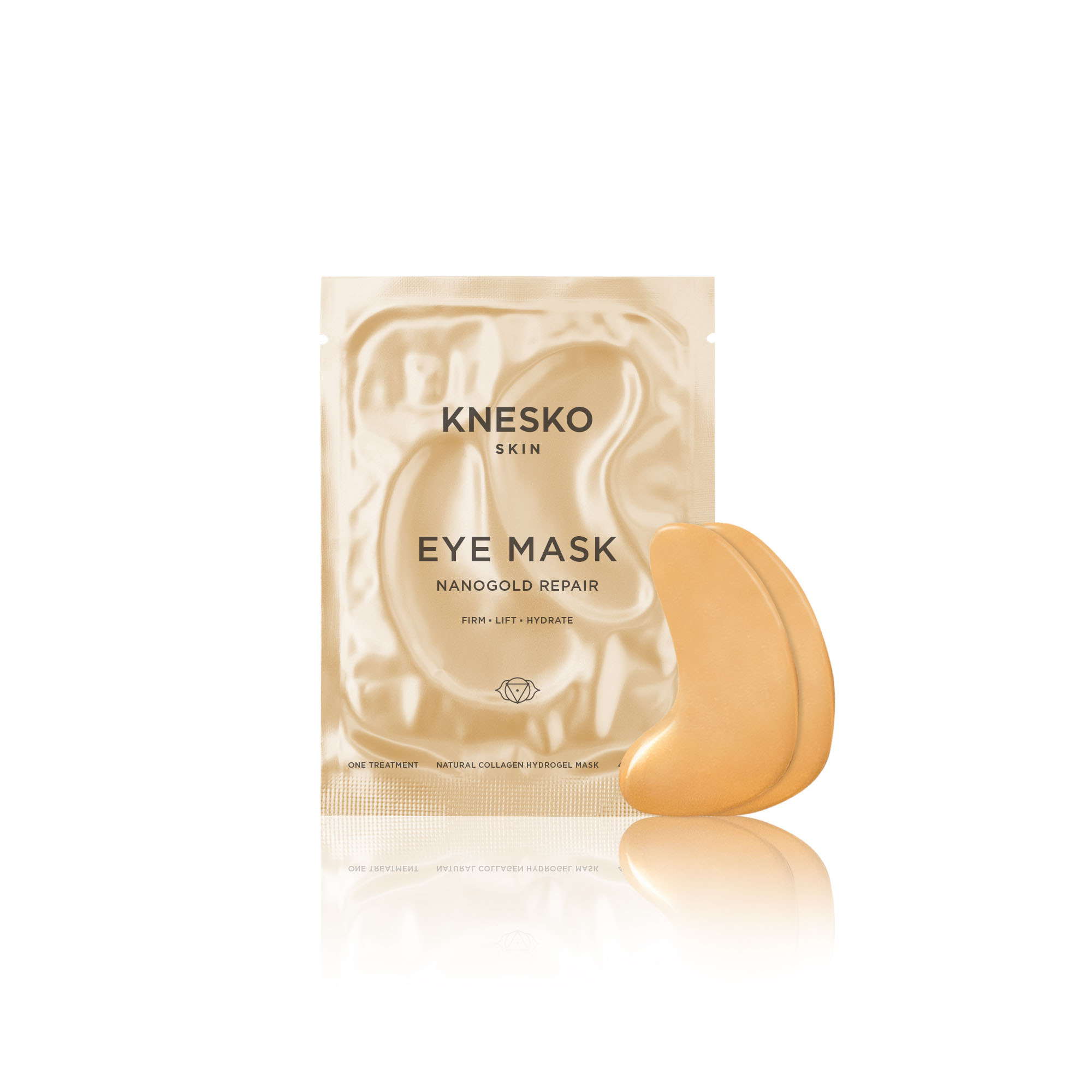 knesko nanogold eye mask pack