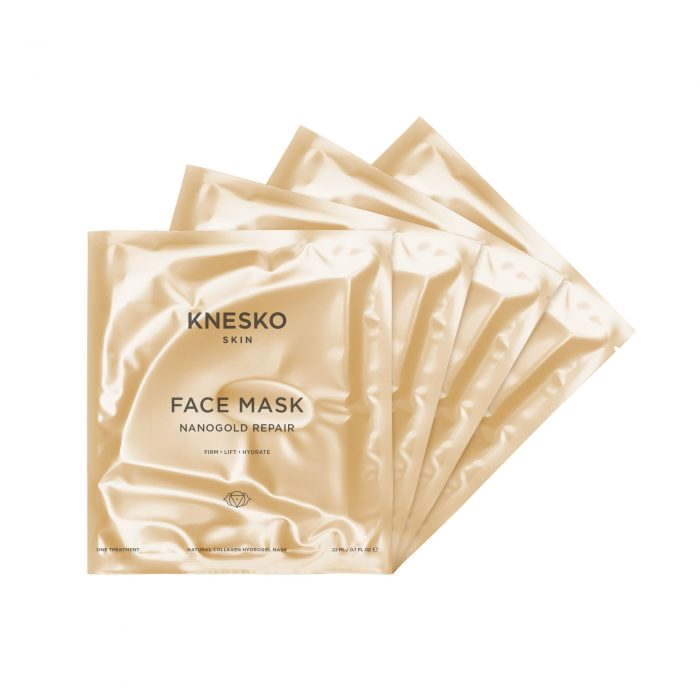knesko nanogold detox face mask five pack