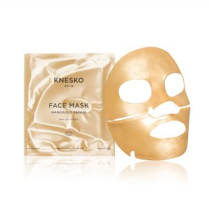 knesko nanogold detox face mask pack