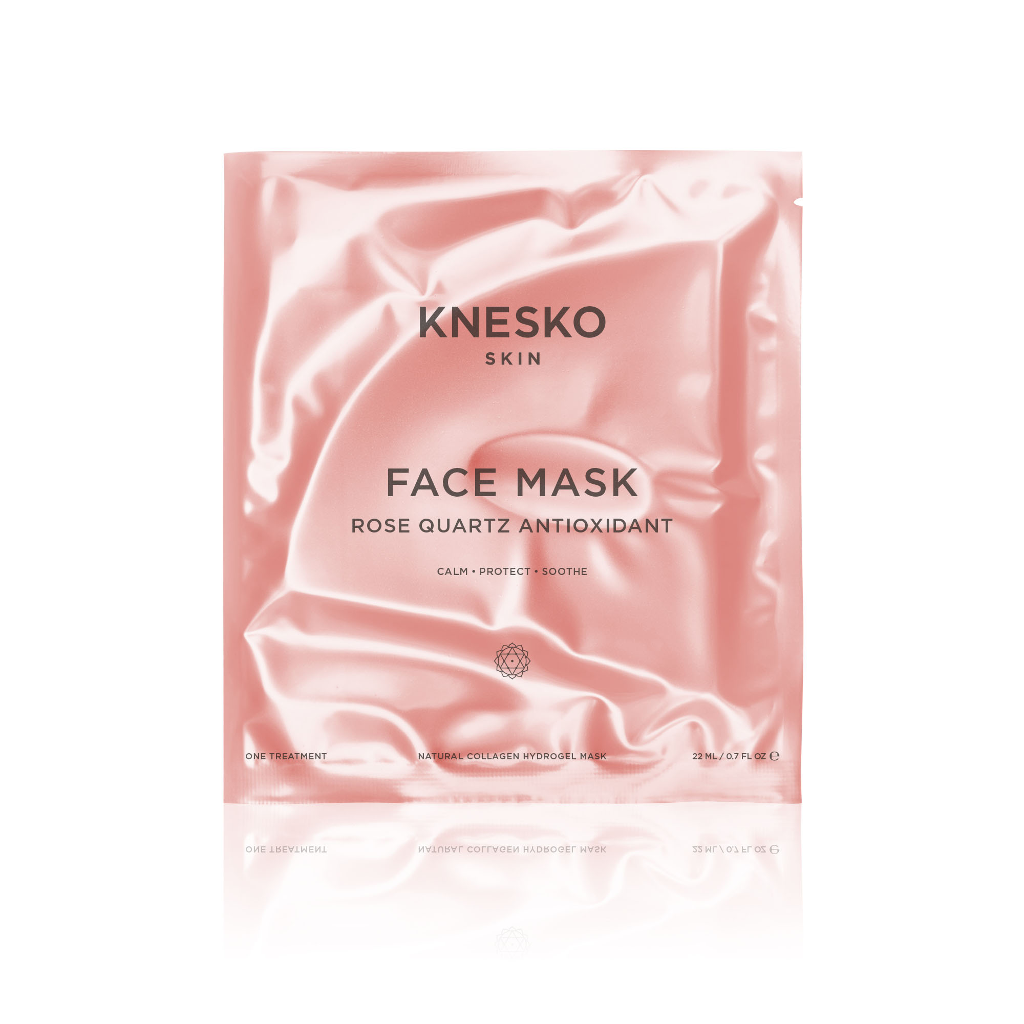 knesko rose quartz face mask