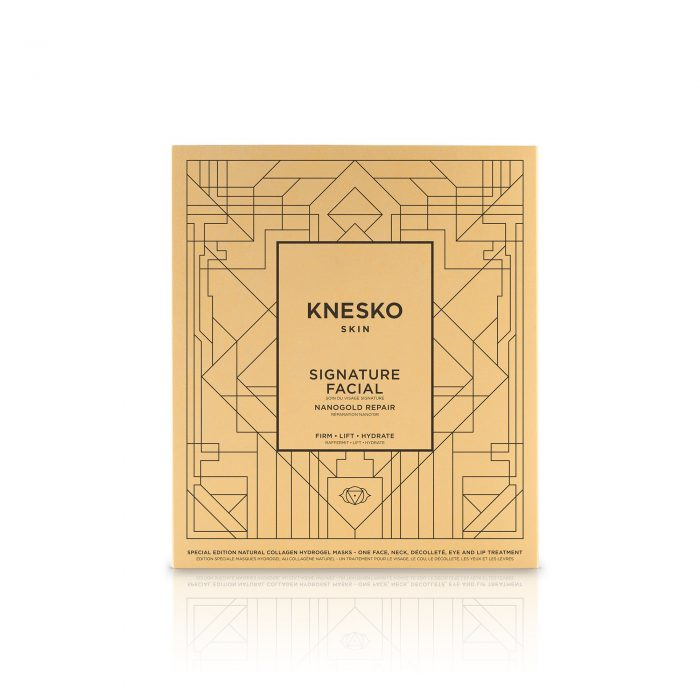 knesko nanogold facial mask box