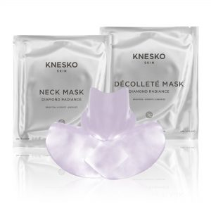 knesko diamond radiance decollete and neck mask