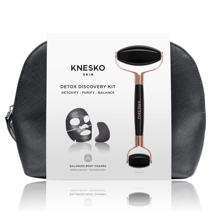 knesko black pearl travel set kit