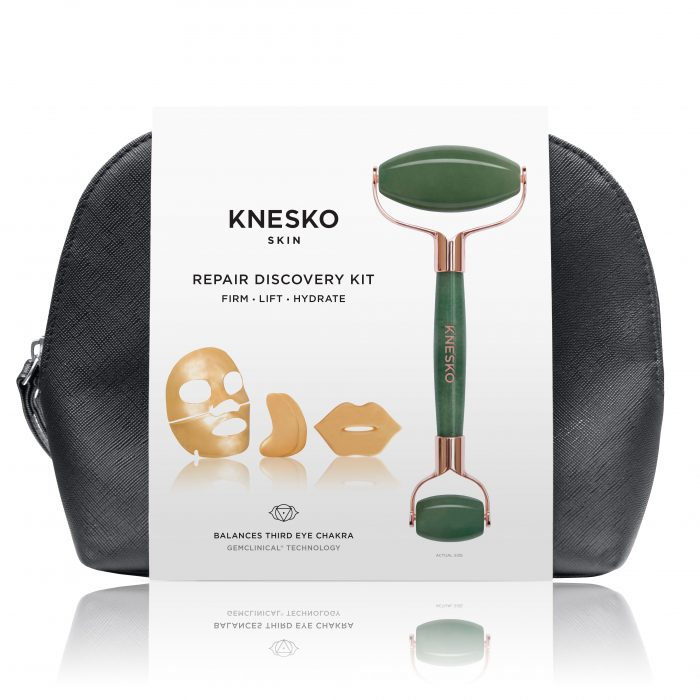 knesko nanogold travel set kit