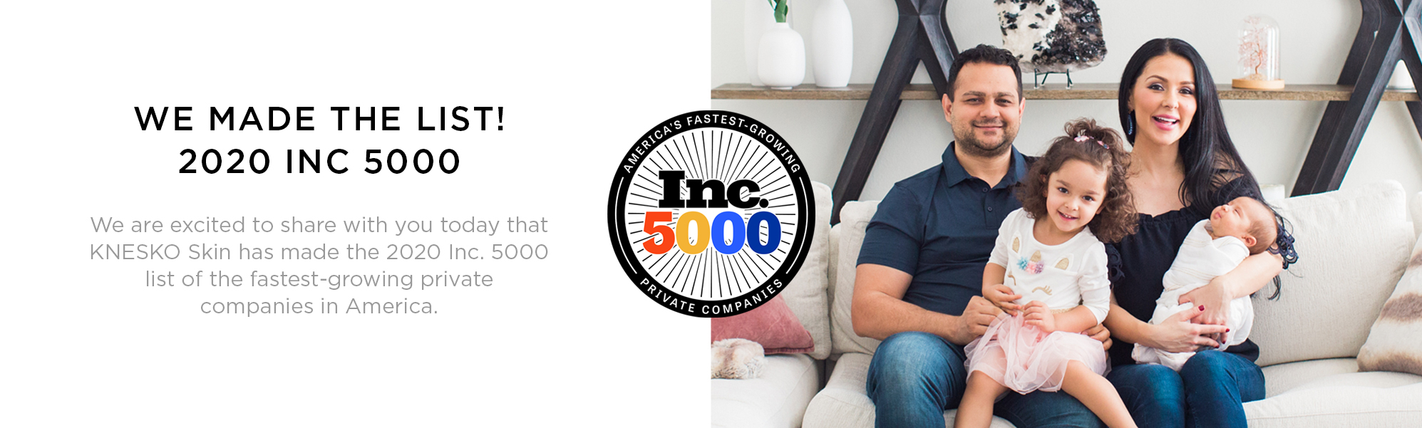 Knesko Made It Into the Inc 5000