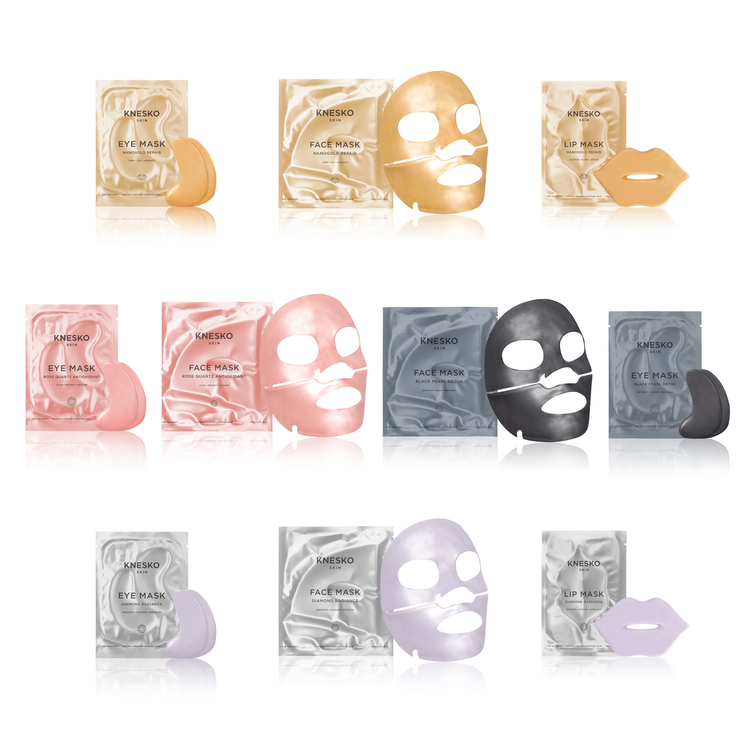 Knesko Luxe Kit Masks